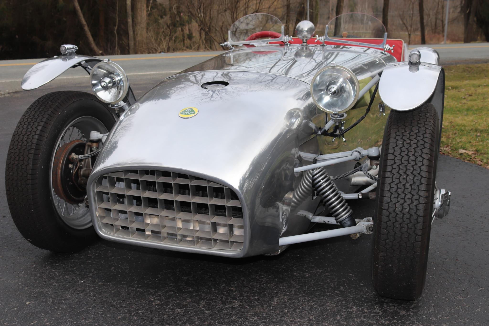 1958 Lotus Seven S1 front end
