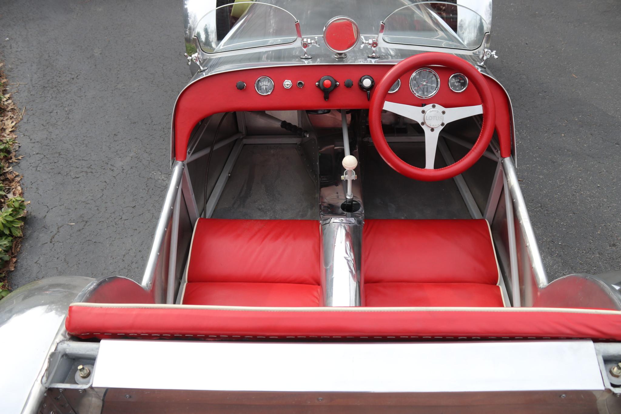 1958 Lotus Seven S1 cockpit