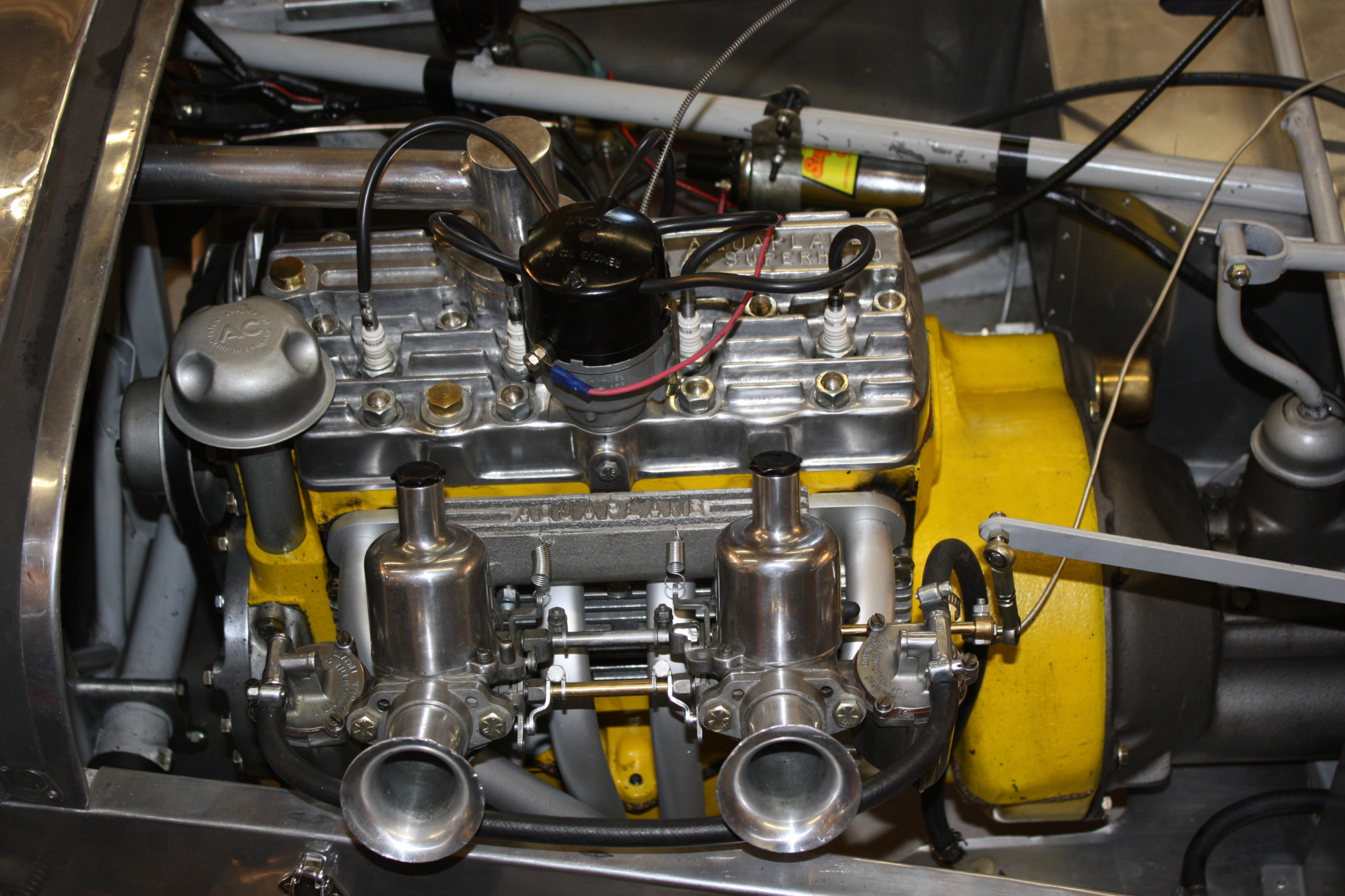 1958 Lotus Seven S1 engine