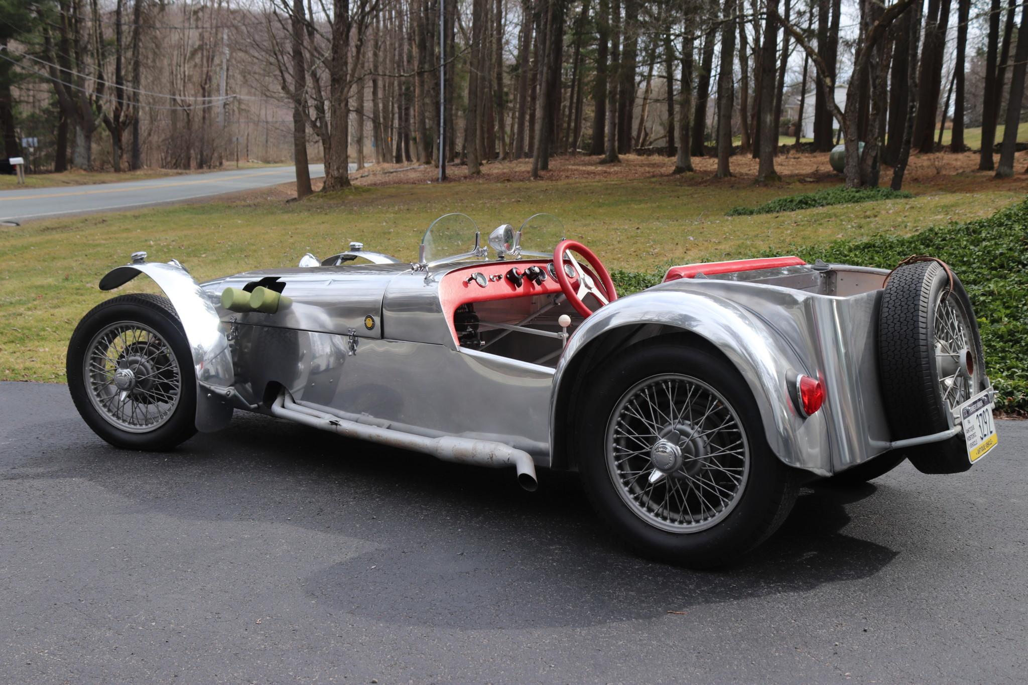 1958 Lotus Seven S1 3/4 rear