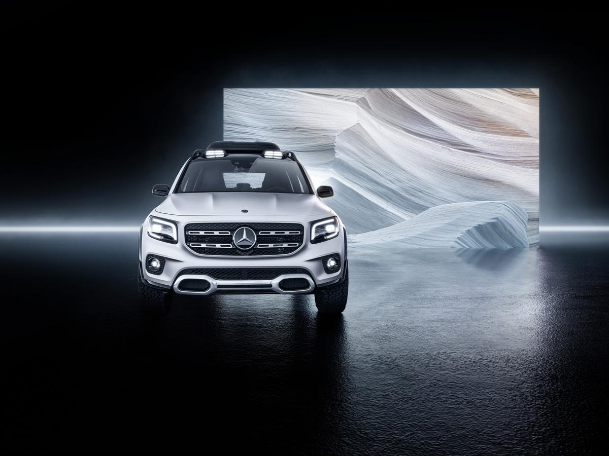 Mercedes-Benz GLB Concept front screen