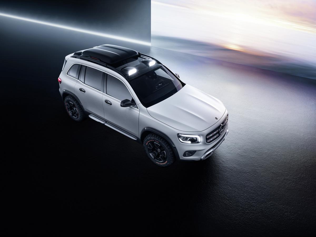 Mercedes-Benz GLB Concept 3/4 high