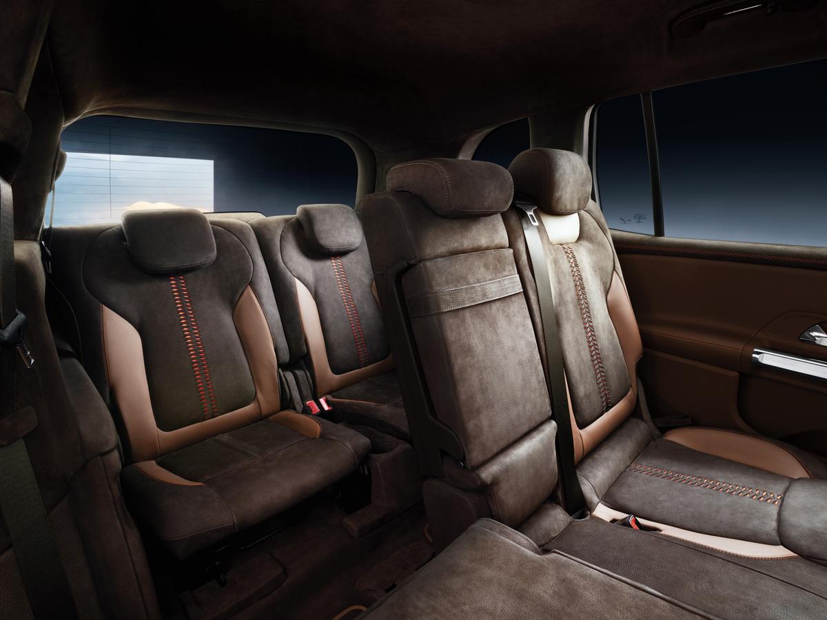 Mercedes-Benz GLB Concept seats rear