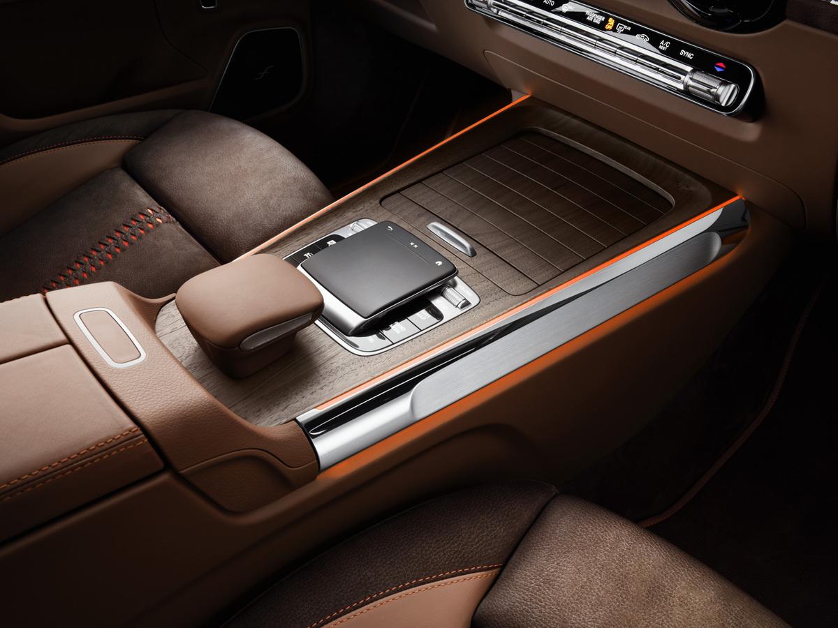 Mercedes-Benz GLB Concept center console