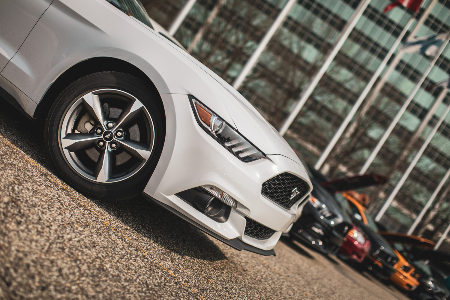 s550 mustang nose