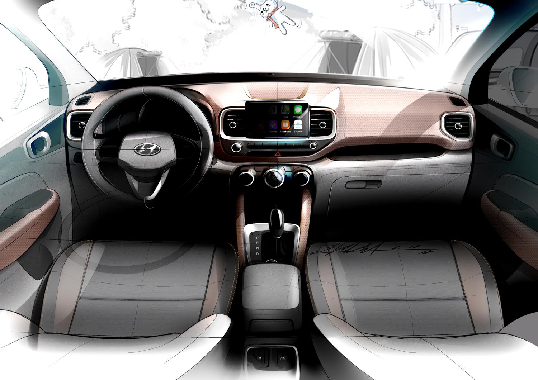 Hyundai Venue interior seats dash