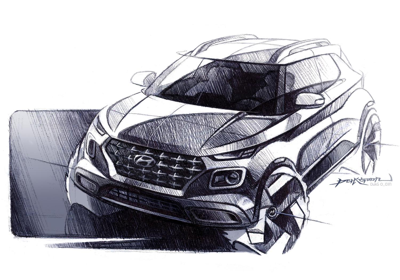 Hyundai Venue 3/4 front