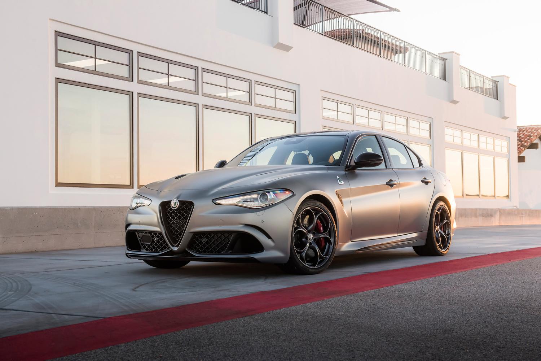 2019 Alfa Romeo Giulia Quadrifoglio NRING 3/4 front
