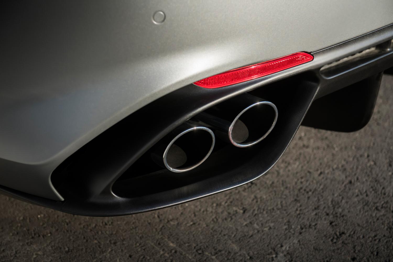 2019 Alfa Romeo Giulia Quadrifoglio NRING exhaust