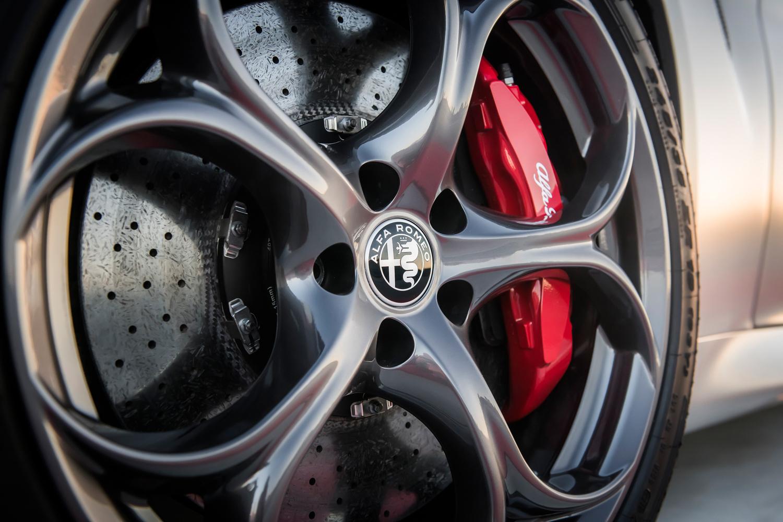 2019 Alfa Romeo Giulia Quadrifoglio NRING wheels