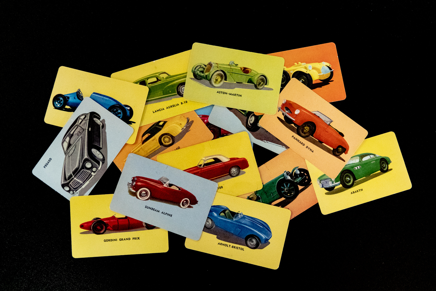 Satisfy your classic car sweet tooth with Mother's Cookies cards