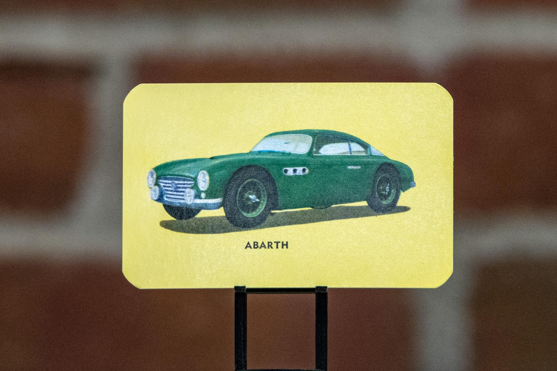 Card No. 39: Abarth.