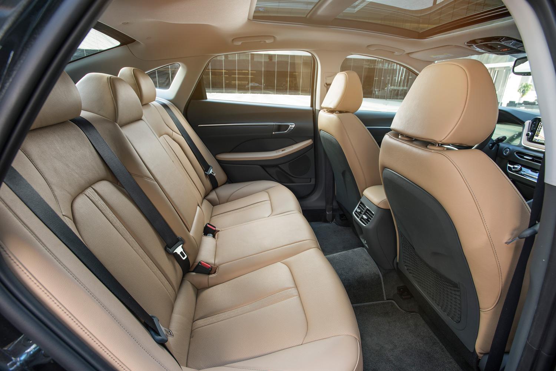 2020 Hyundai Sonata rear seat