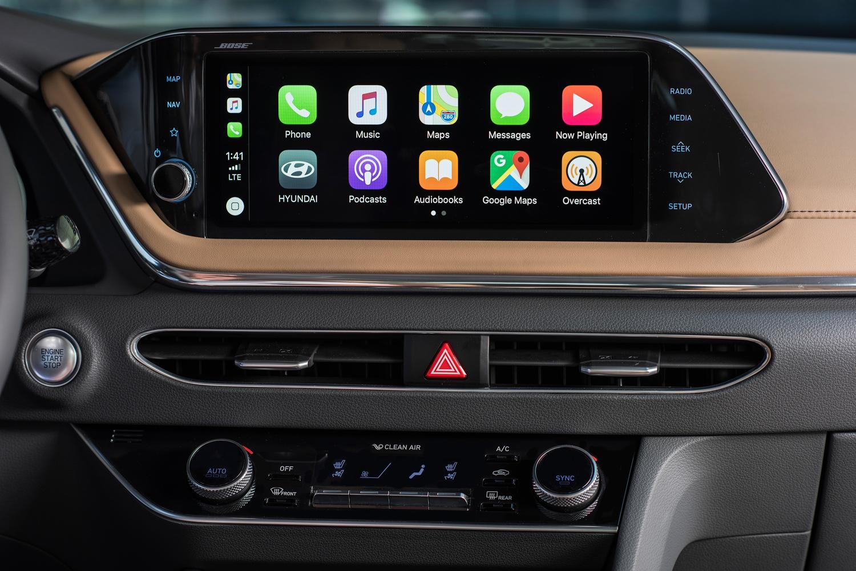 2020 Hyundai Sonata dash screen