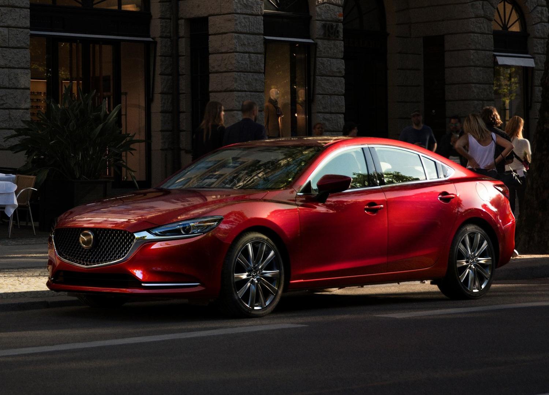 2018 Mazda 6 3/4 rear