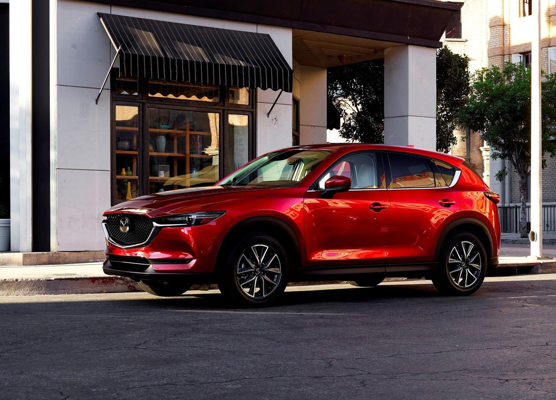 2018 Mazda CX-5 3/4 front
