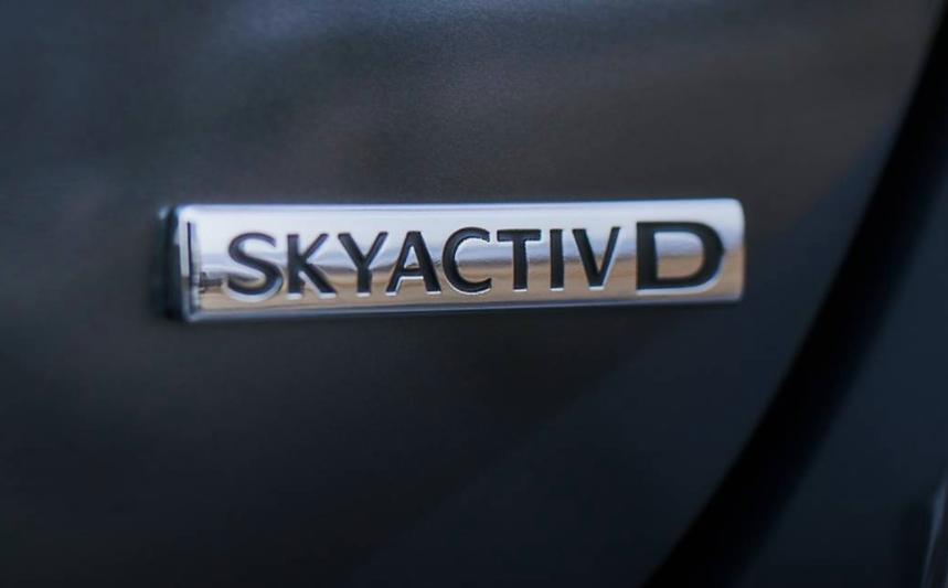 Skyactive d badge