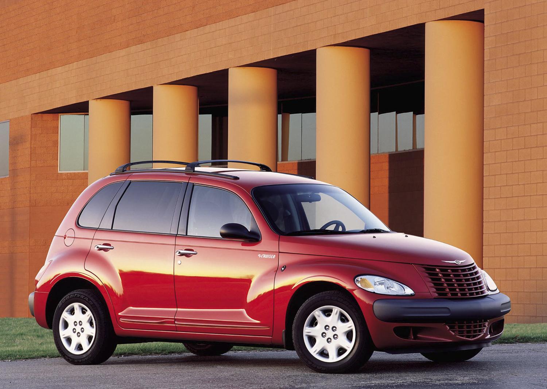 2001 Chrysler PT Cruiser interior