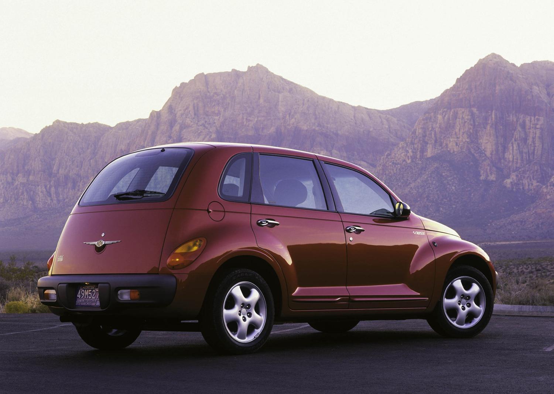 2001 Chrysler PT Cruiser 3/4 front