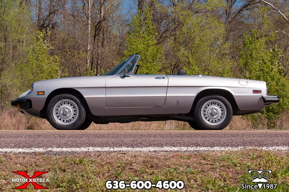1976 Alfa Romeo Spider Veloce Series II side low