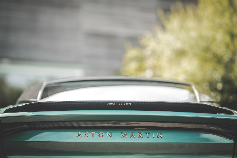 Aston Martin dbs 59 spoiler rear detail