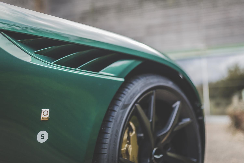 Aston Martin DBS 59 fender detail