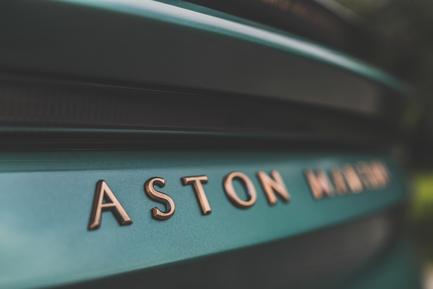 Aston Martin DBS 59 rear badge detail