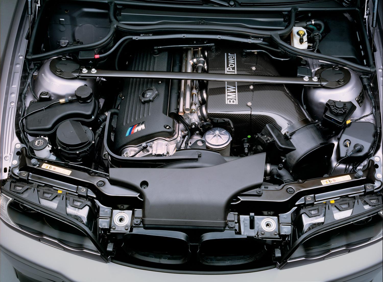 BMW inline 6 engine bay