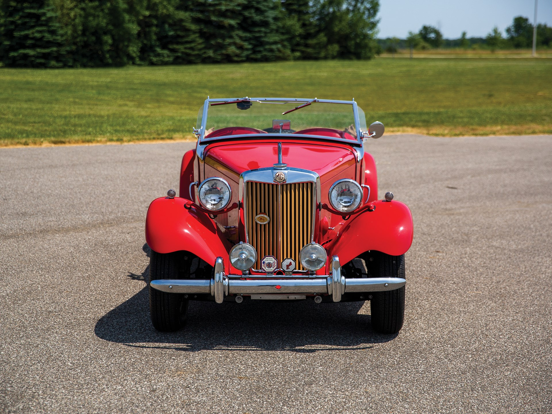1952 MG TD front