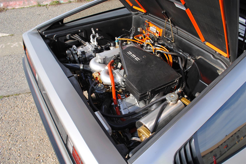 1981 DeLorean DMC-12 engine right