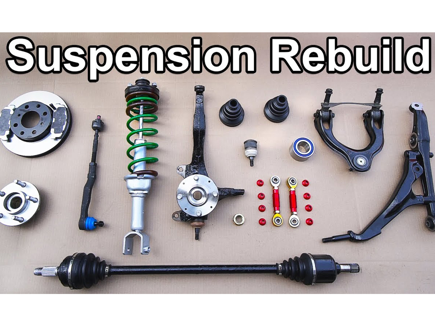 These tips will make front suspension assembly a breeze on your next project thumbnail