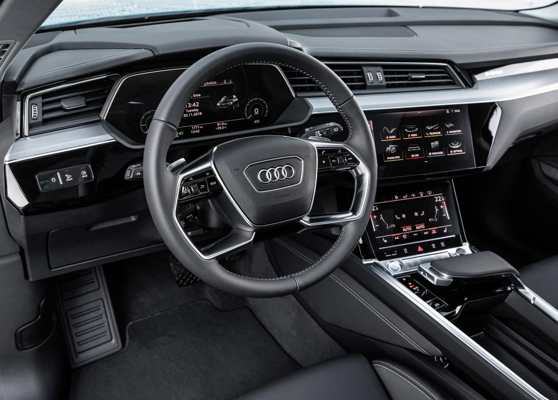 2020 Audi e-tron interior