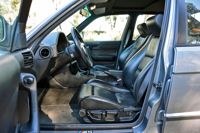 BMW M5 (E34) interior seat driver