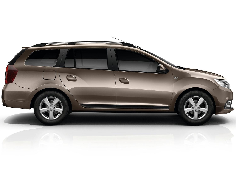 2017 Dacia Logan MCV side