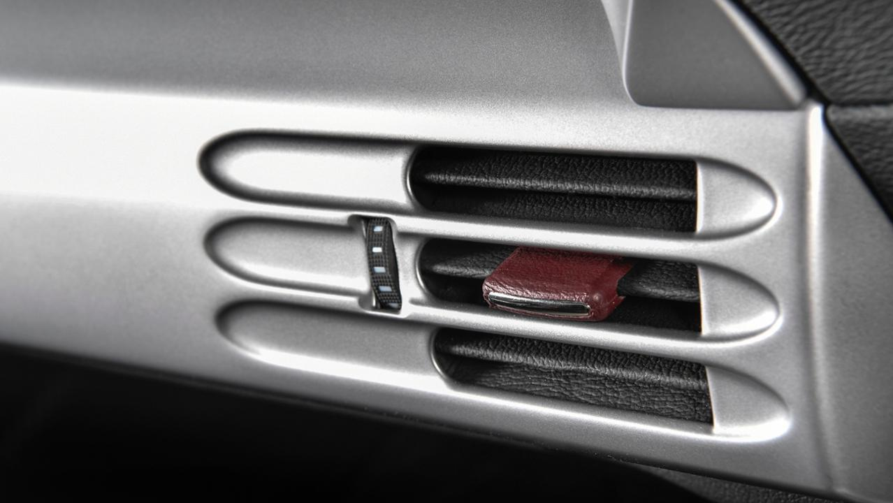 Porsche Carrera GT leather detail