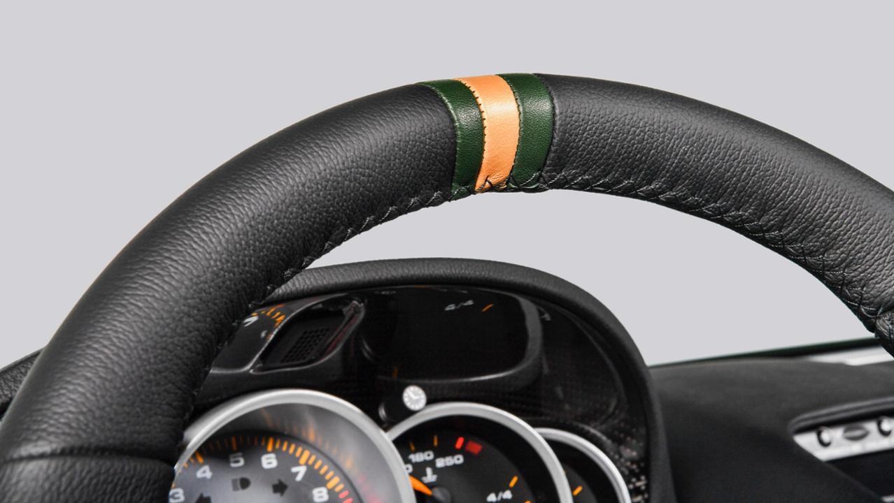 2019 Porsche Carrera GT steering wheel