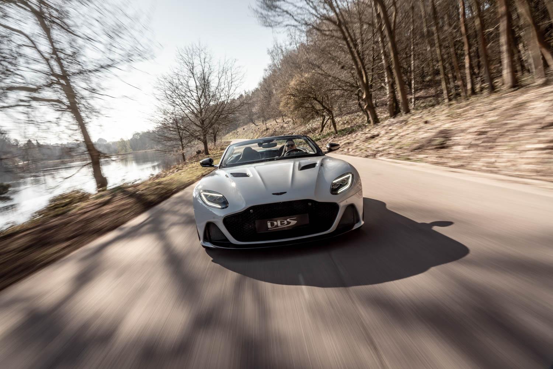 Aston Martin DBS Superleggara Volante front