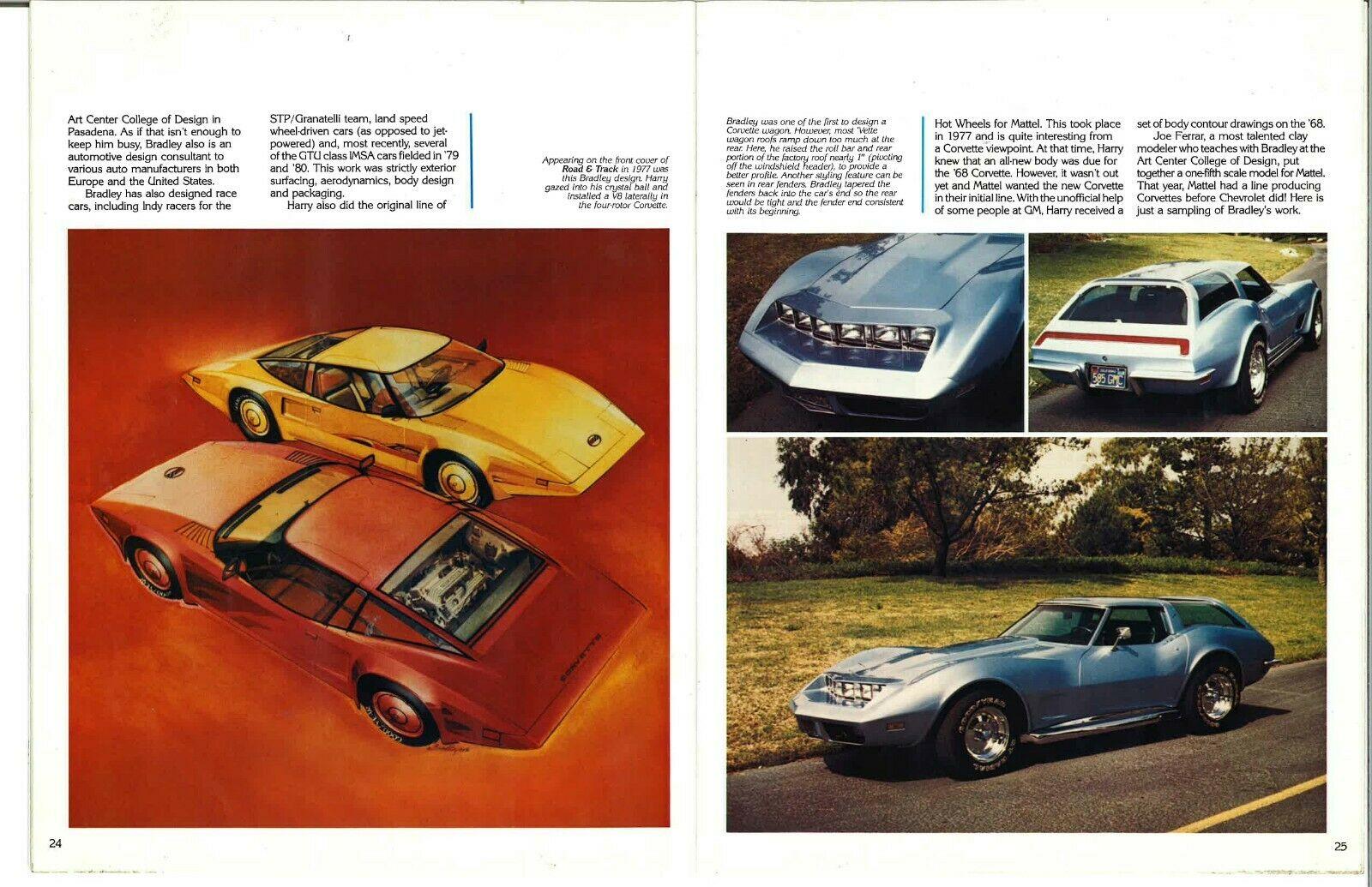 1973 Chevrolet Corvette Wagon profiled in a magazine