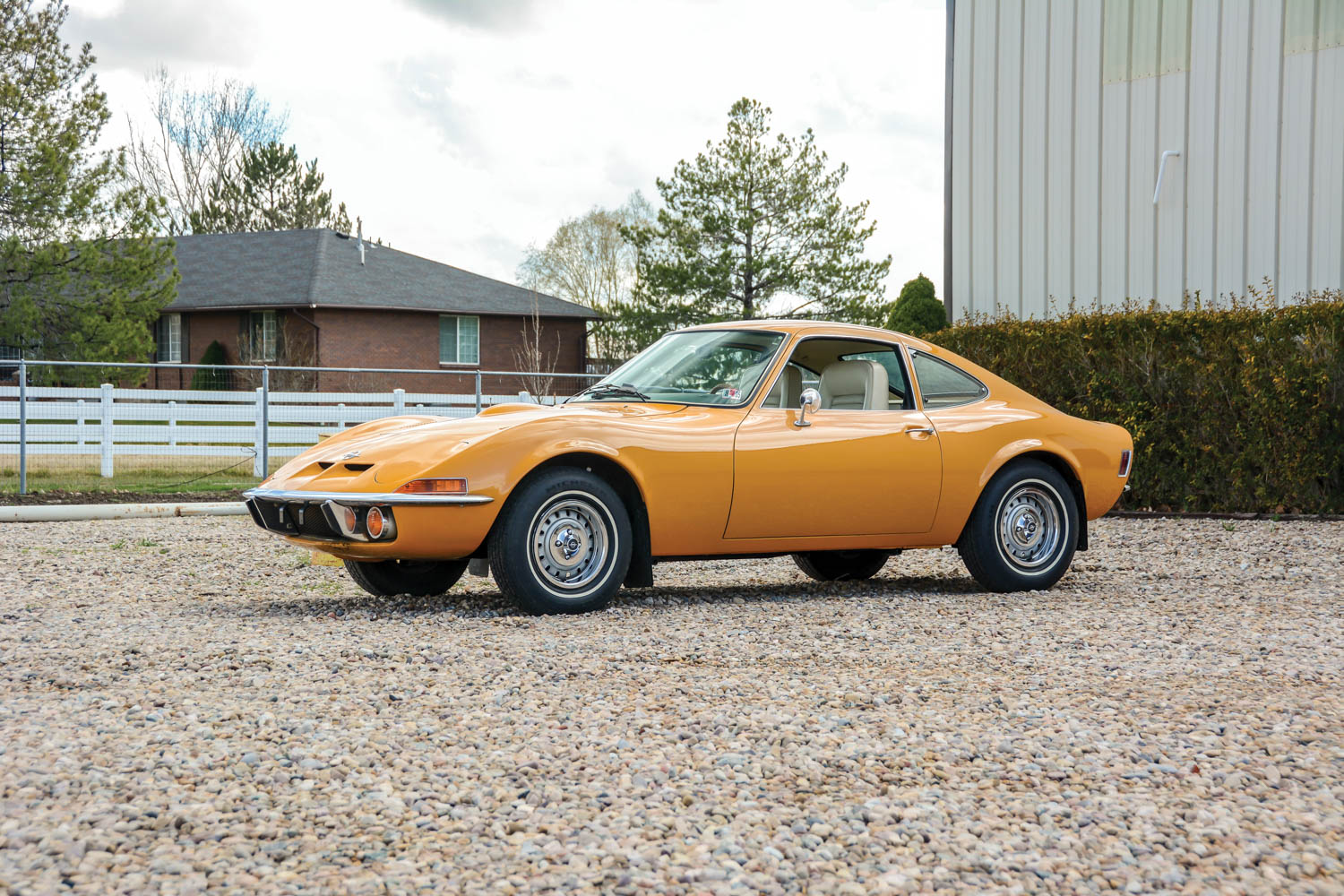 The 1968–73 Opel GT offers a lot of quirk per dollar