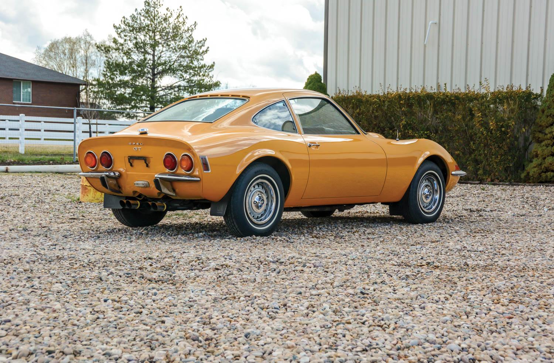 1971 Opel GT REAR 3/4
