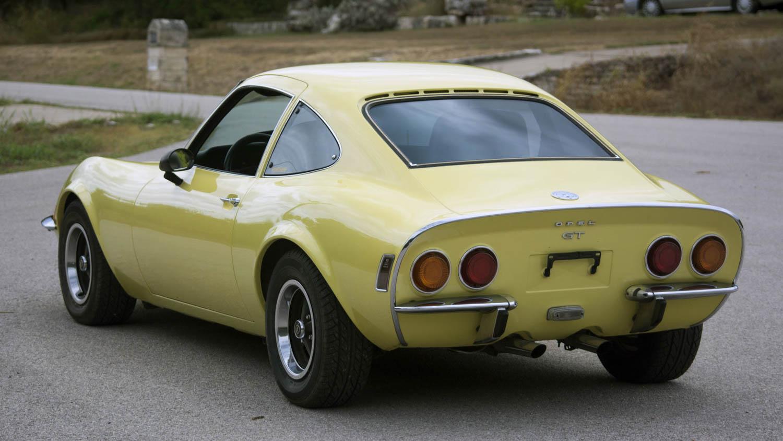 1973 Opel GT rear 3/4