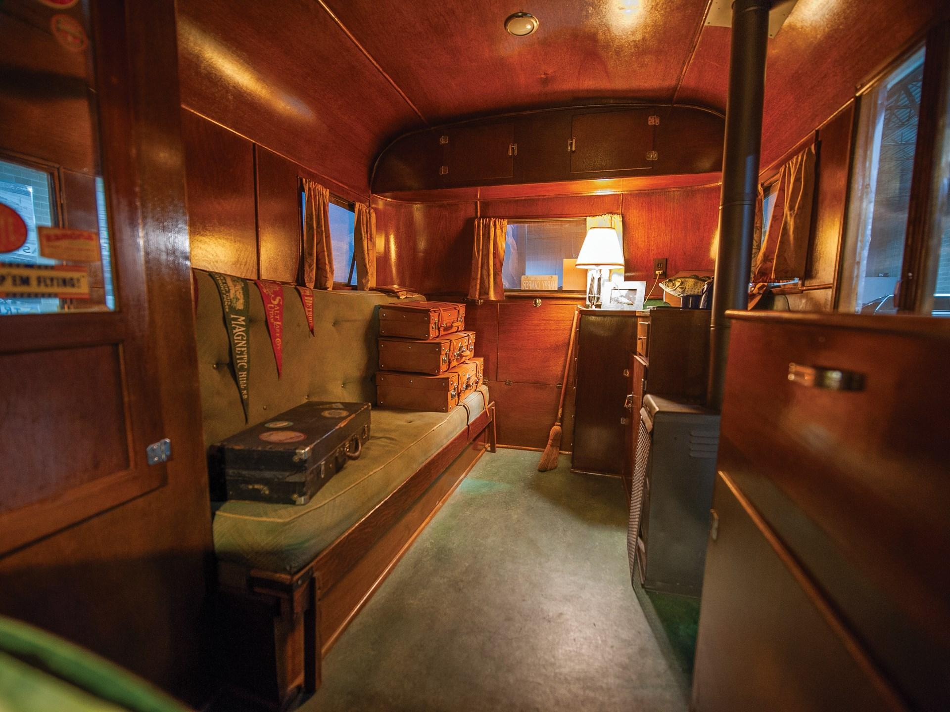 1937 Pierce-Arrow Model C Travelodge interior couch