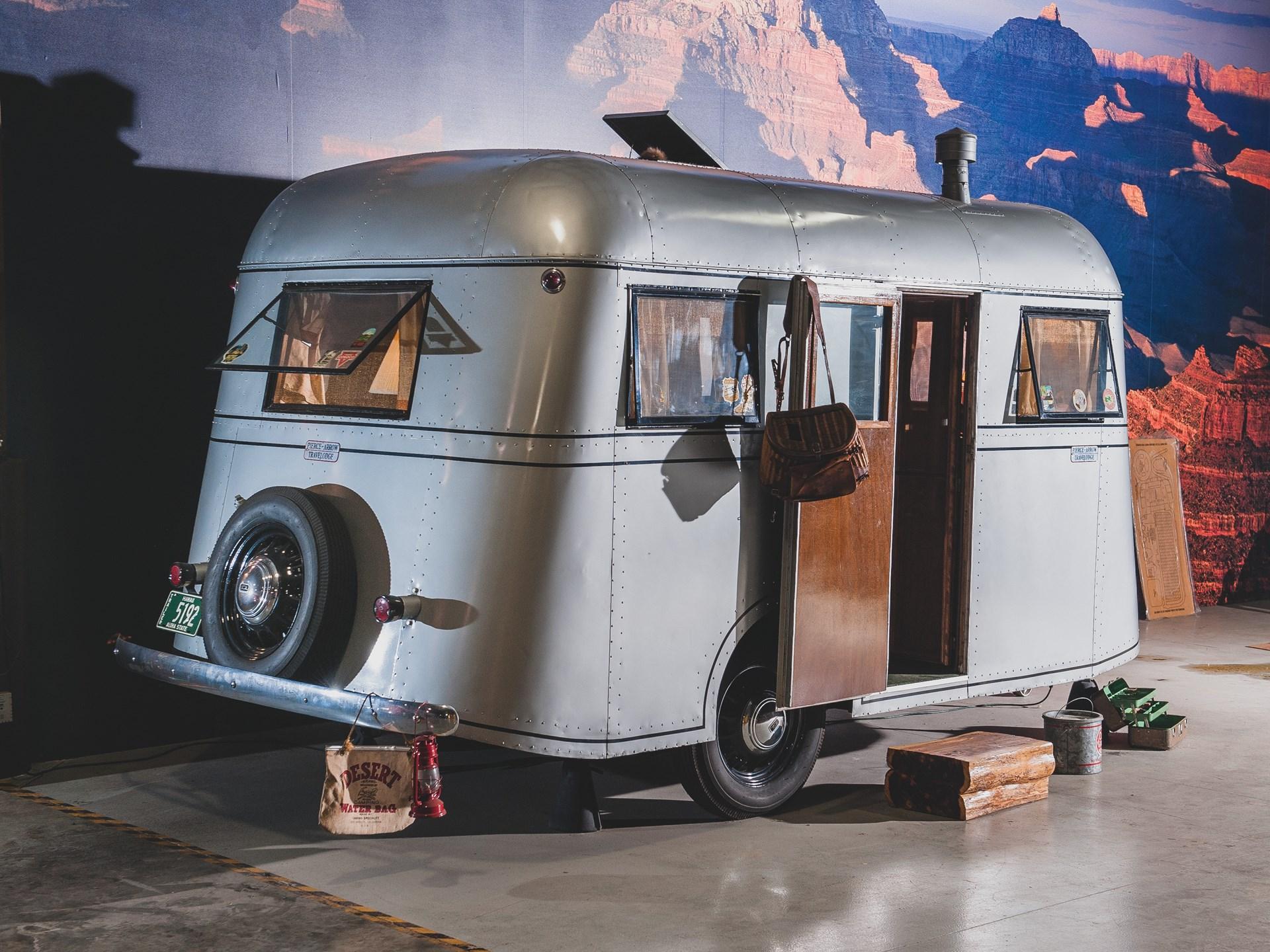 1937 Pierce-Arrow Model C Travelodge rear 3/4
