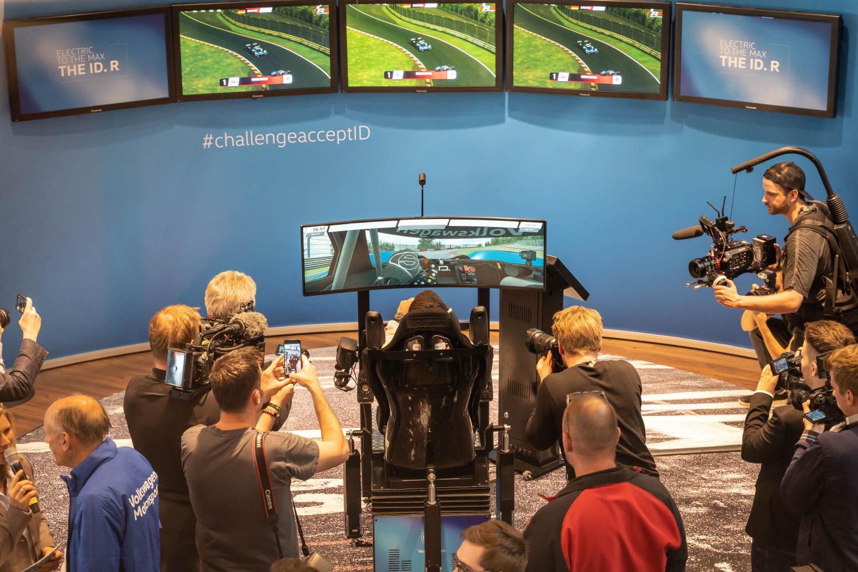Driving simulator Volkswagen