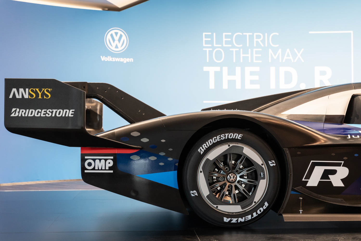 Volkswagen ID. R electric race car wing
