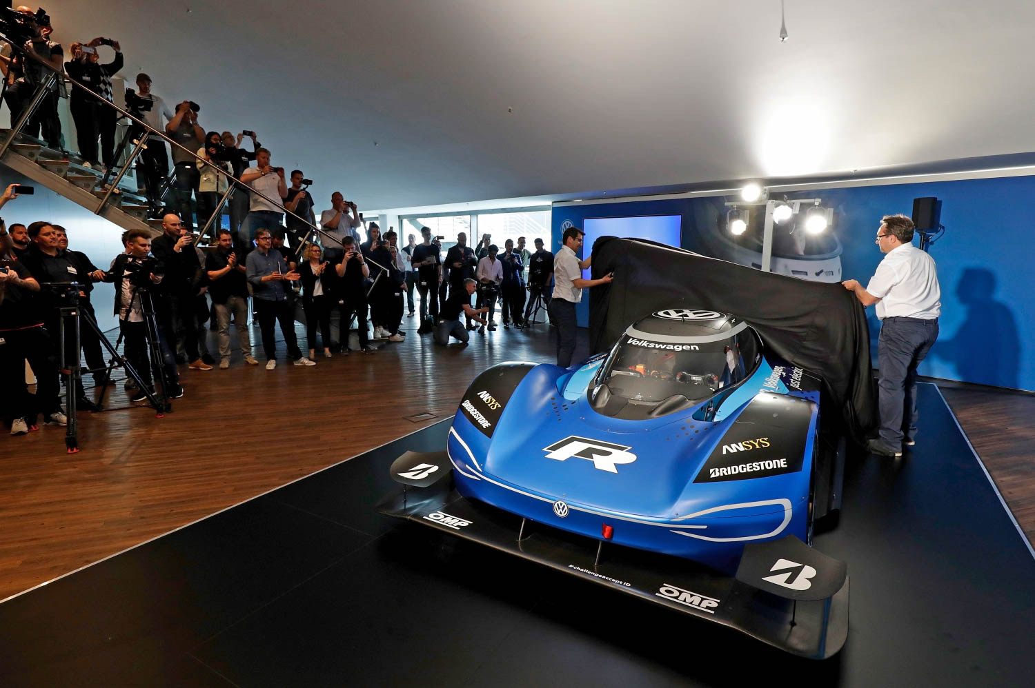 Volkswagen ID. R electric race car unveiled