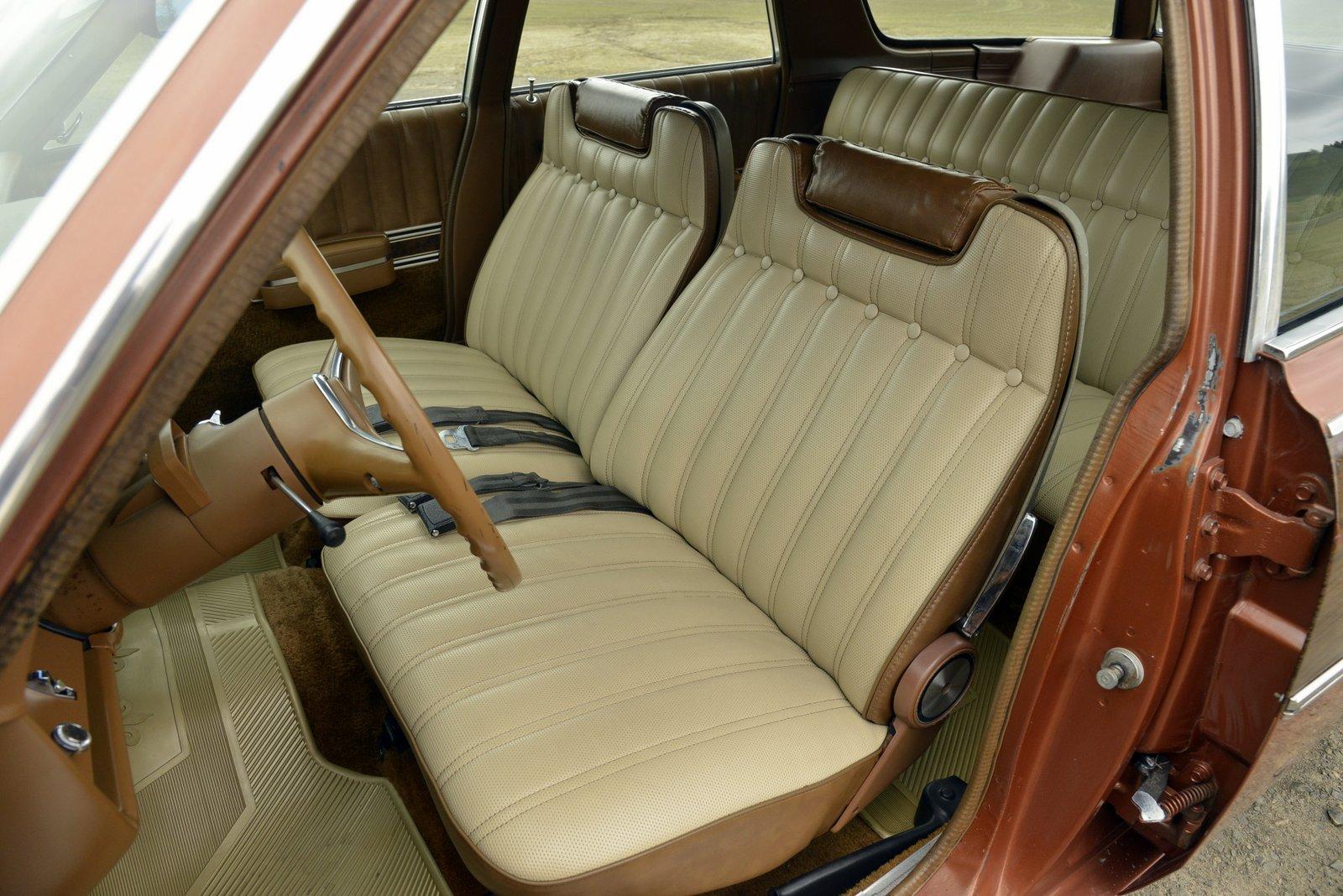 1972 AMC Ambassador Brougham Wagon driver seat
