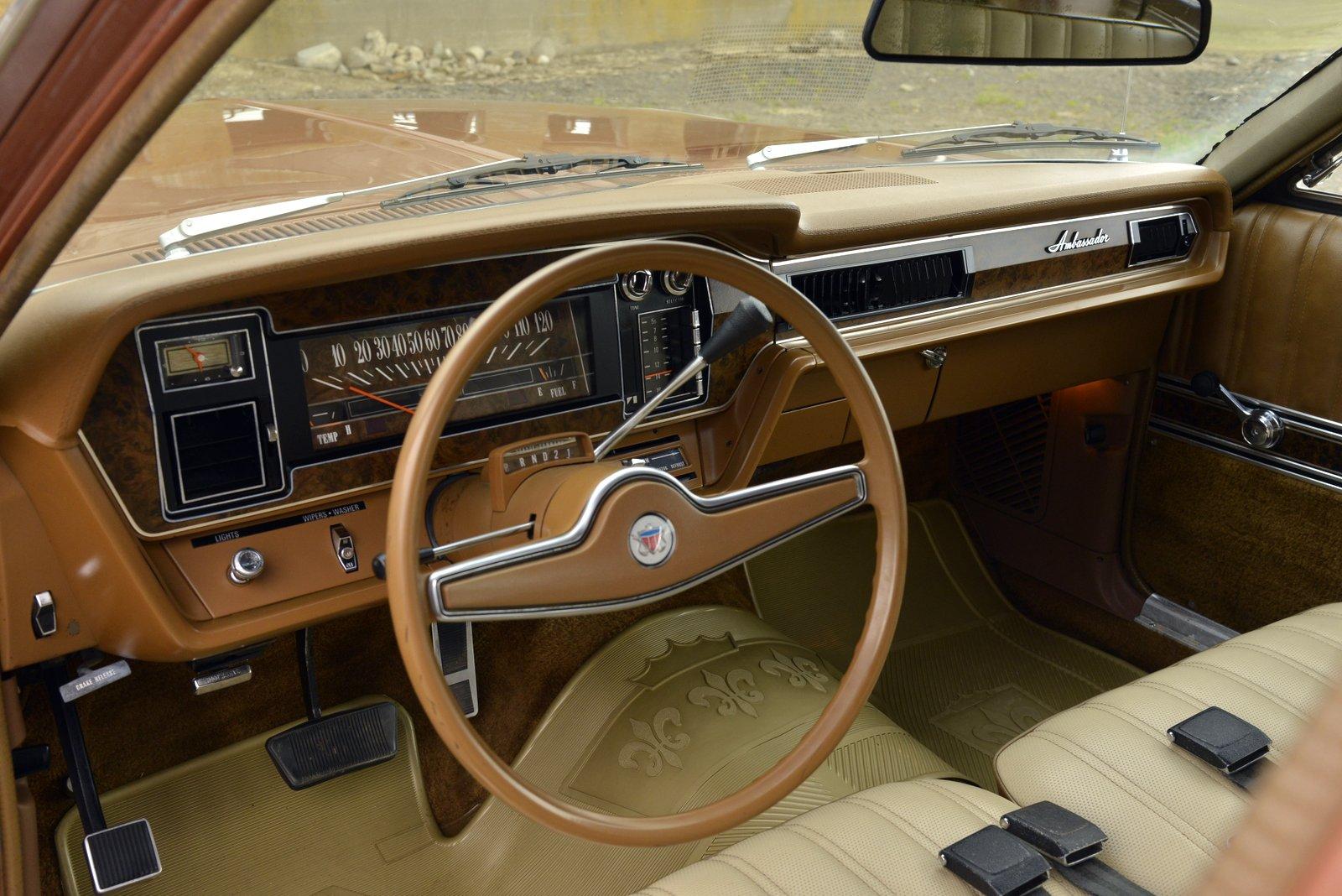 1972 AMC Ambassador Brougham Wagon steering wheel