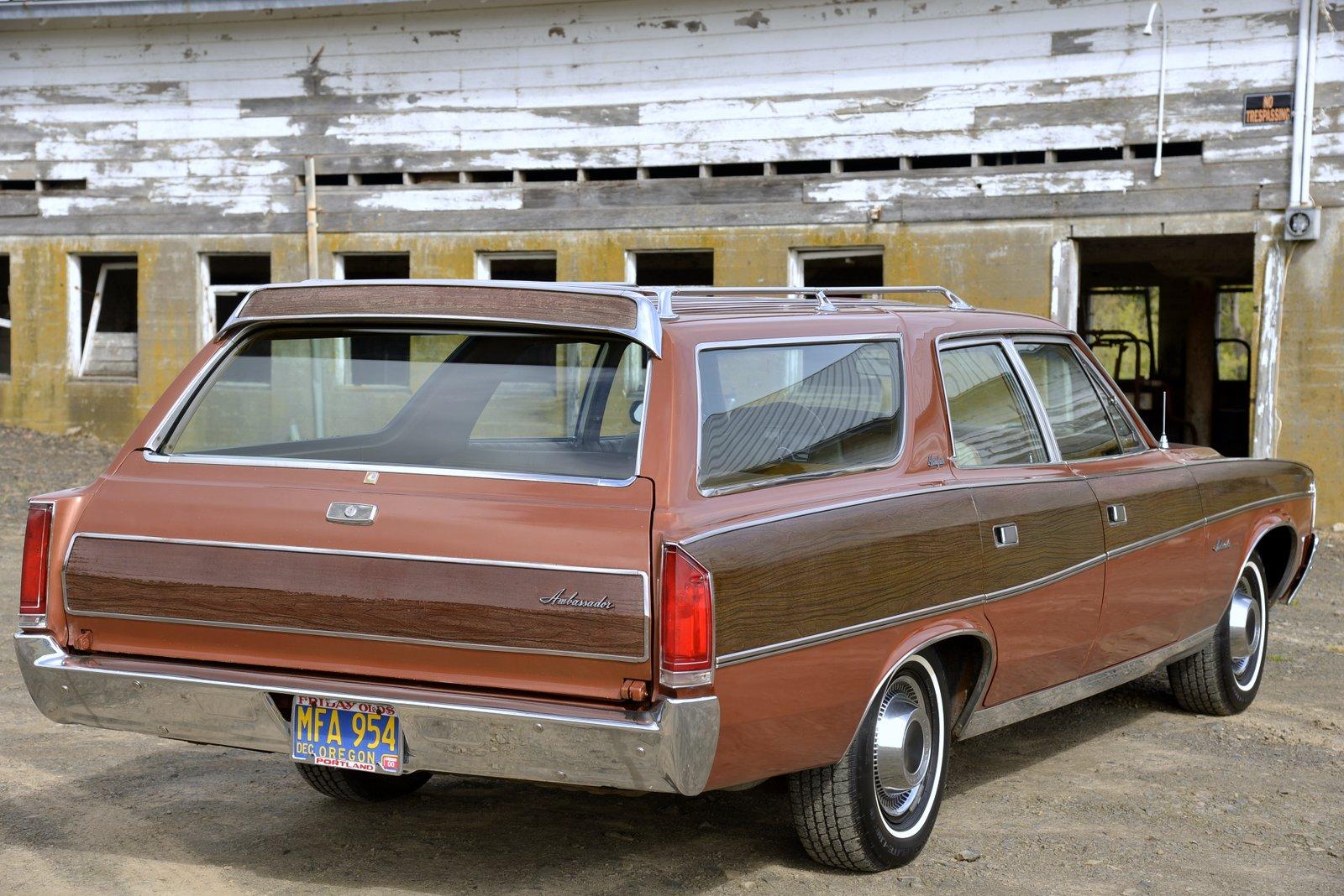 1972 AMC Ambassador Brougham Wagon 3/4 rear