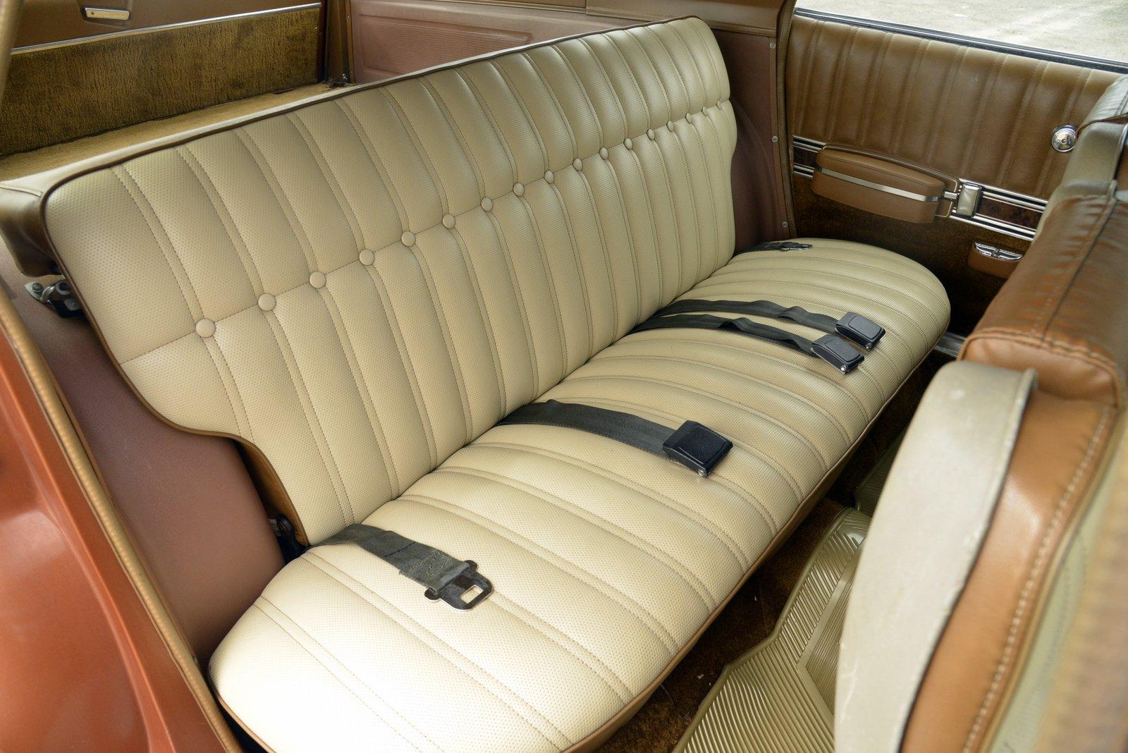 1972 AMC Ambassador Brougham Wagon rear bench